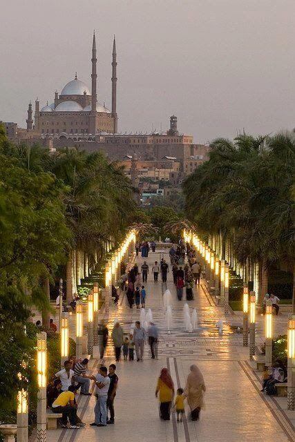 Cairo Egypt El azhar park