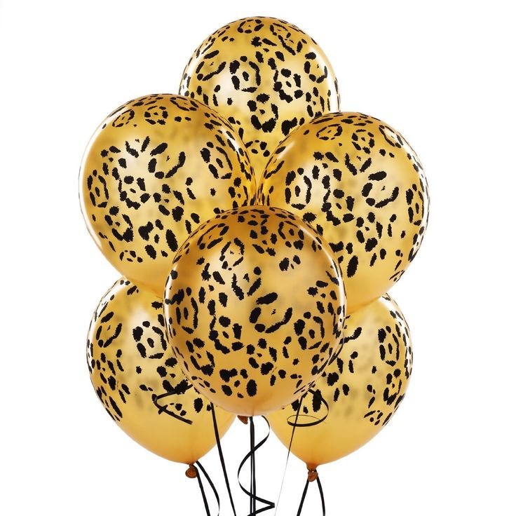 Leopard Spots Latex Balloons Party Accessory  Price:$2.70