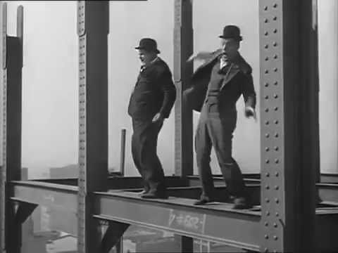 "Laurel and Hardy in ""Liberty"" 1929 Great visual comedy."