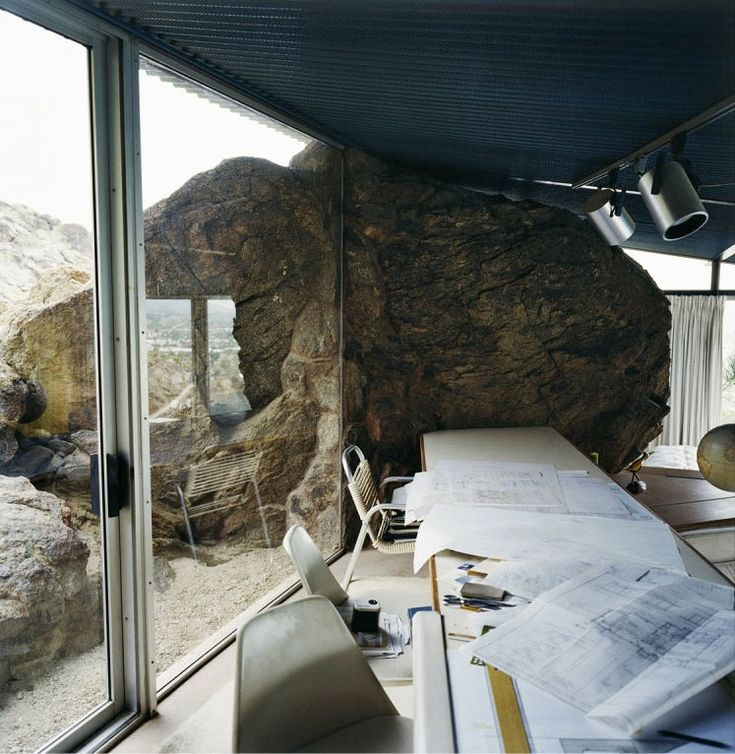 Palm Springs home of architect Alfred Frey by François Halard