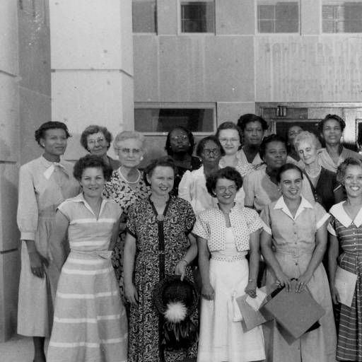 Statewide Conference of African American public librarians at Southern University in Baton Rouge Louisiana circa 1955