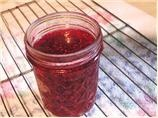 Raspberry Freezer Jam - low sugar