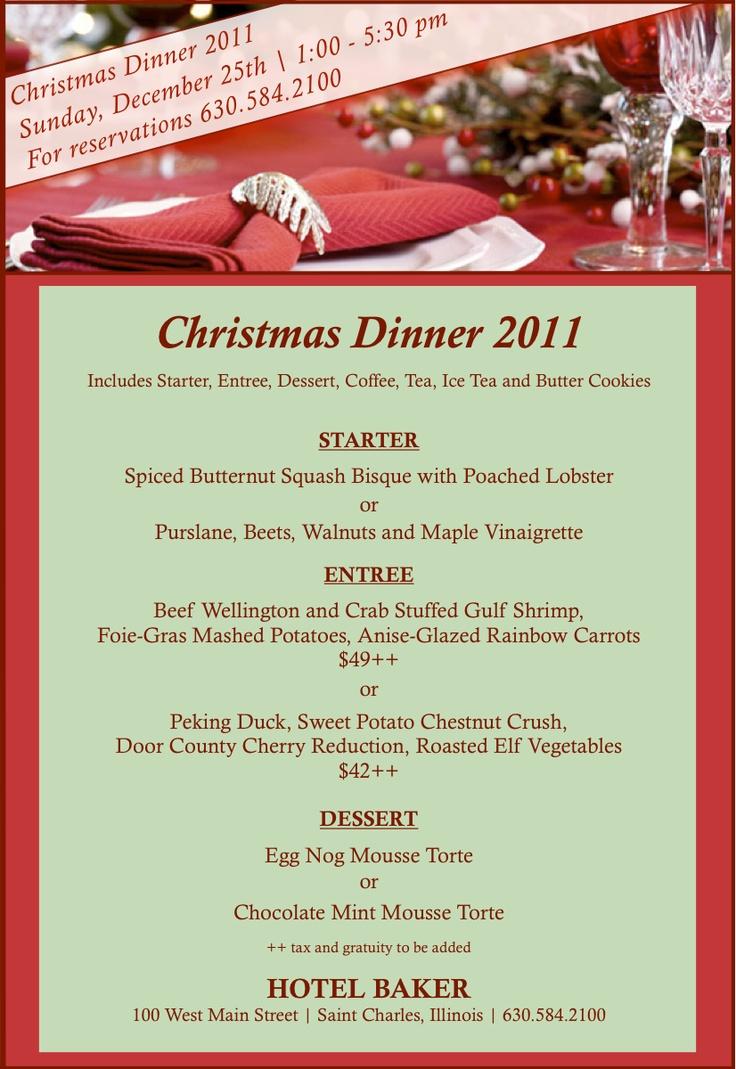 17 best images about christmas menus on pinterest christmas parties bristol and christmas - Christmas menu pinterest ...