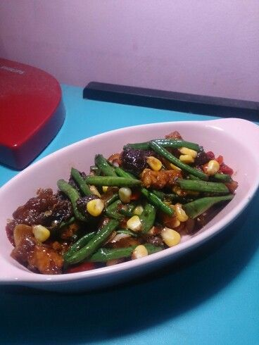 Sauteed Vegetables with Beef