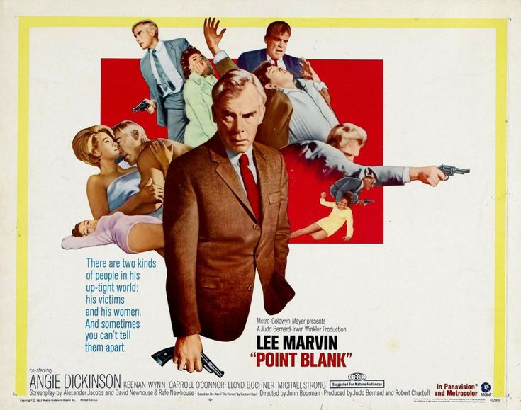 Point Blank (1967) - John Boorman's American debut remains a landmark crime movie, mixing fast-paced, hard-hitting Hollywood action with European stylistic experimentation and cool, existential enquiry to lastingly intoxicating effect.