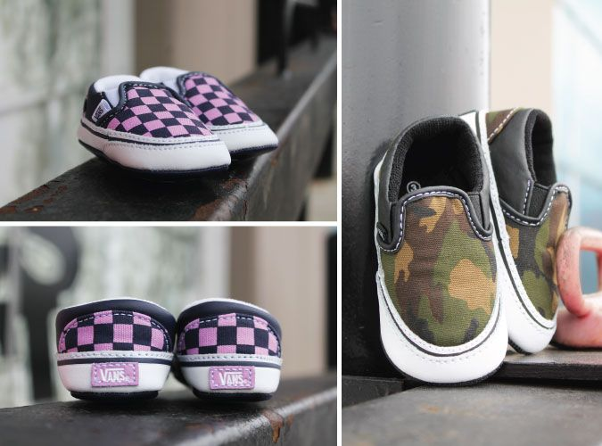 Itty Bitty @vans for babies! Too cute!