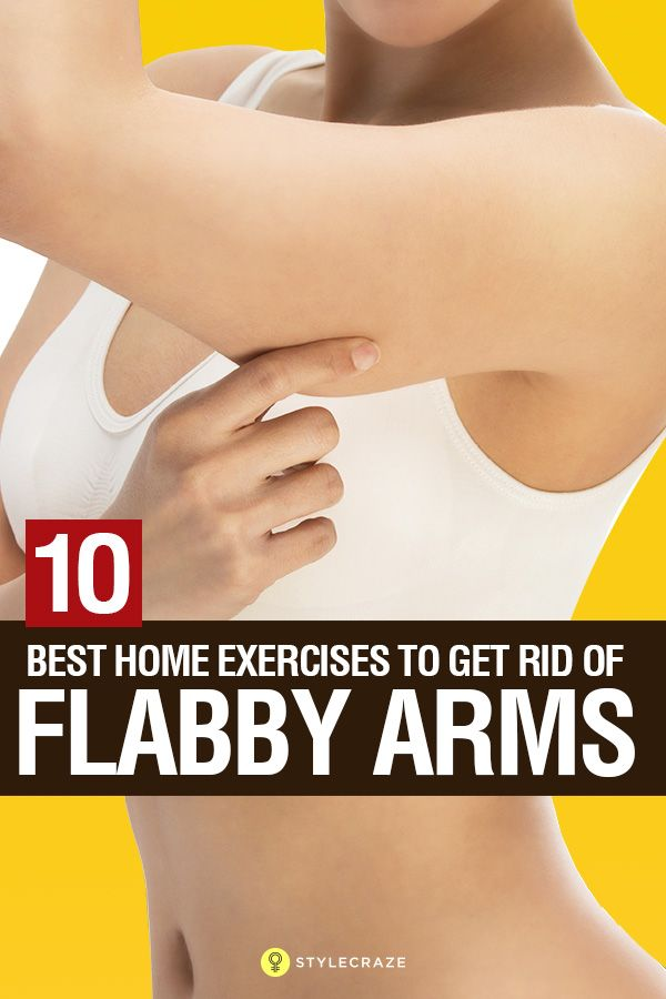 how to lose flabby arms quick