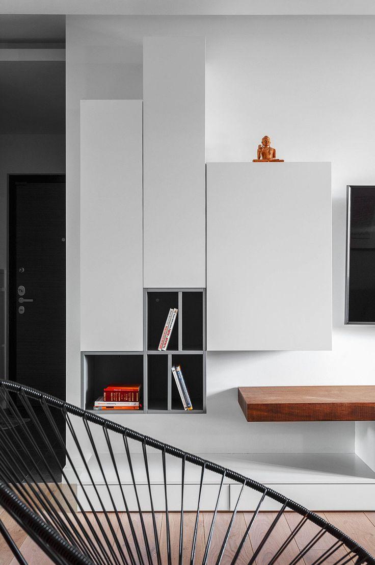 Фотография: Гостиная в стиле Современный, Квартира, Проект недели, Москва,  ИКЕА,