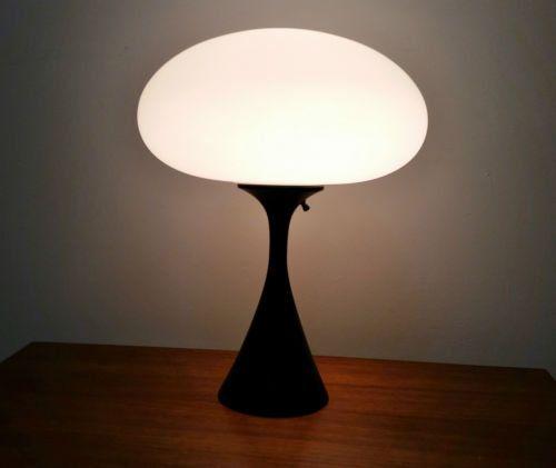 MCM Laurel Mushroom Tabel Lamp —