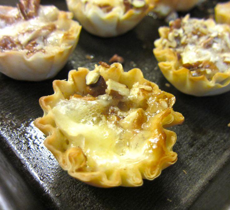 Baked Brie Bites | Appetizers/pot luck/football food | Pinterest