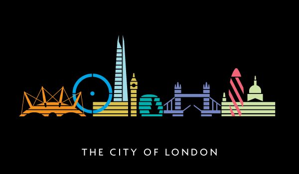 The city of London #poster #london