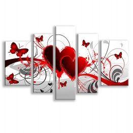 Tableau Peinture Amour Printanier
