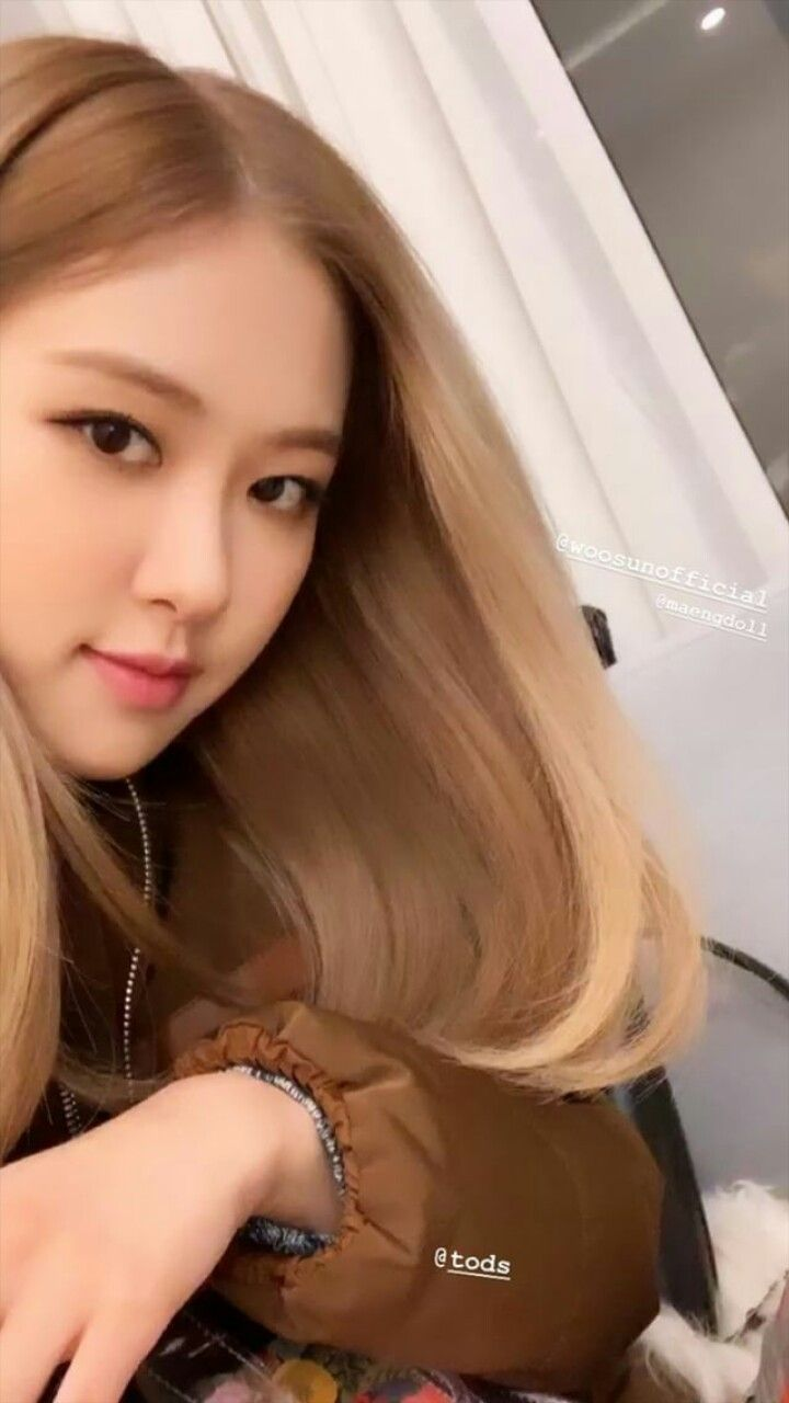 Beauty Cute Rose Blackpink Instastory Blackpink In 2019