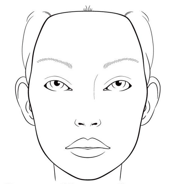 create try printing off a blank face template and doodling some