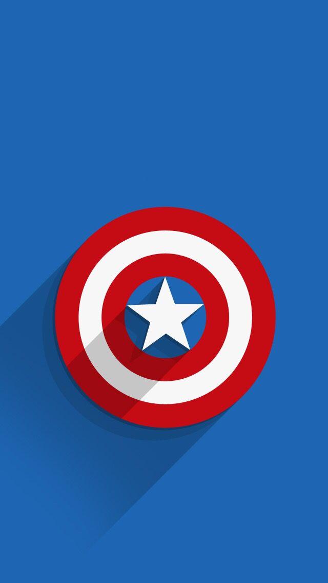 captain america white