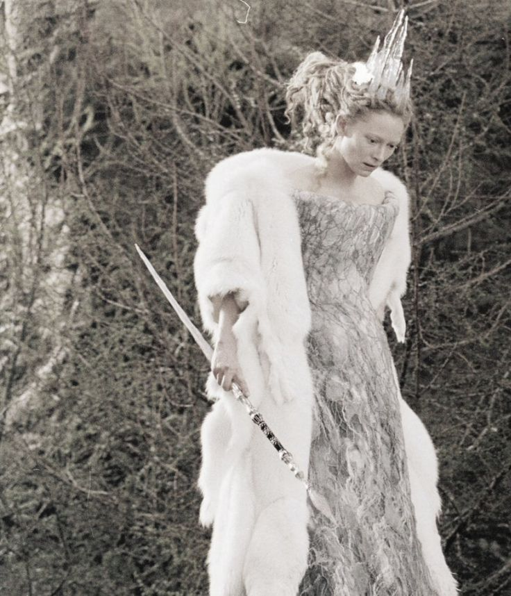 Tilda Swinton as the White Witch inThe Chronicles of Narnia: The Lion, the Witch and the Wardrobe