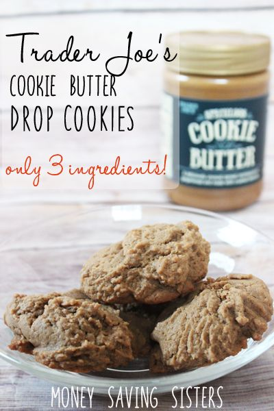 Trader Joe's cookie butter is the best. Definitely going to have to try out these 3 ingredient cookies!
