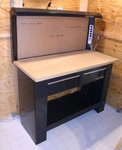 Craftsman Workbench With Two Drawers