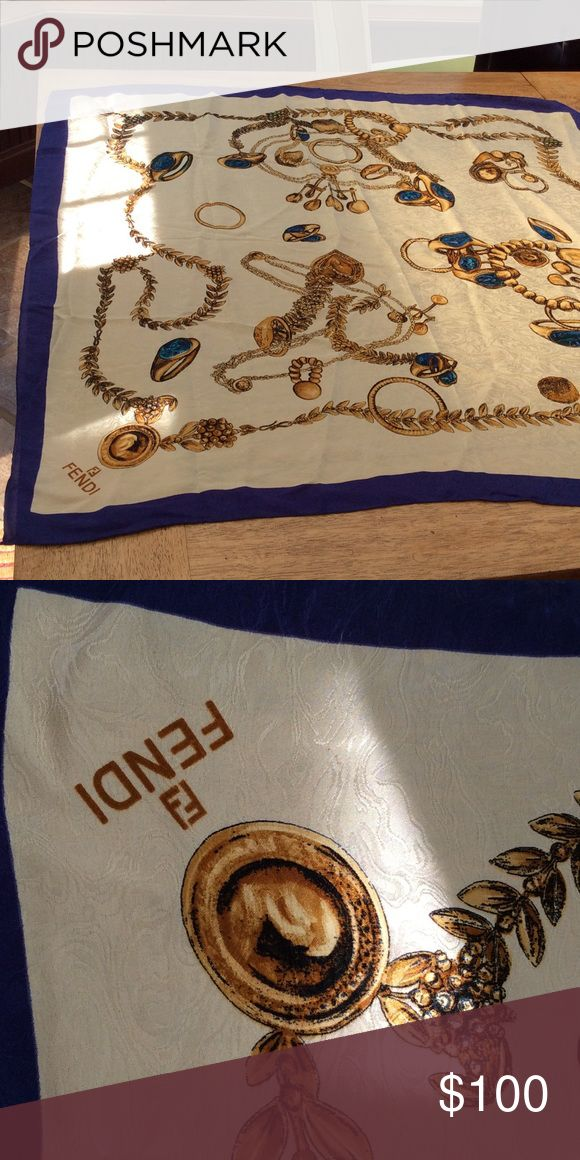 Authentic Fendi scarf Beautiful Fendi Accessories Scarves & Wraps