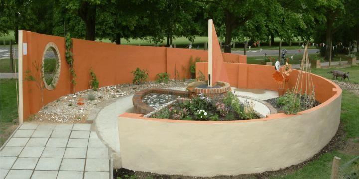 Perspekts design for the sensory garden...