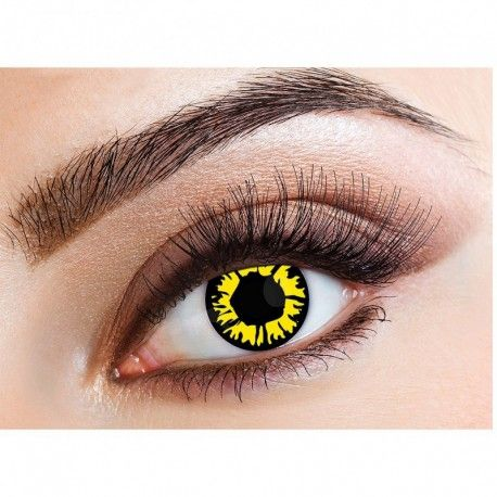 Special Offer Single Use Explosive Colored Contact Lenses (Explosion Yellow)