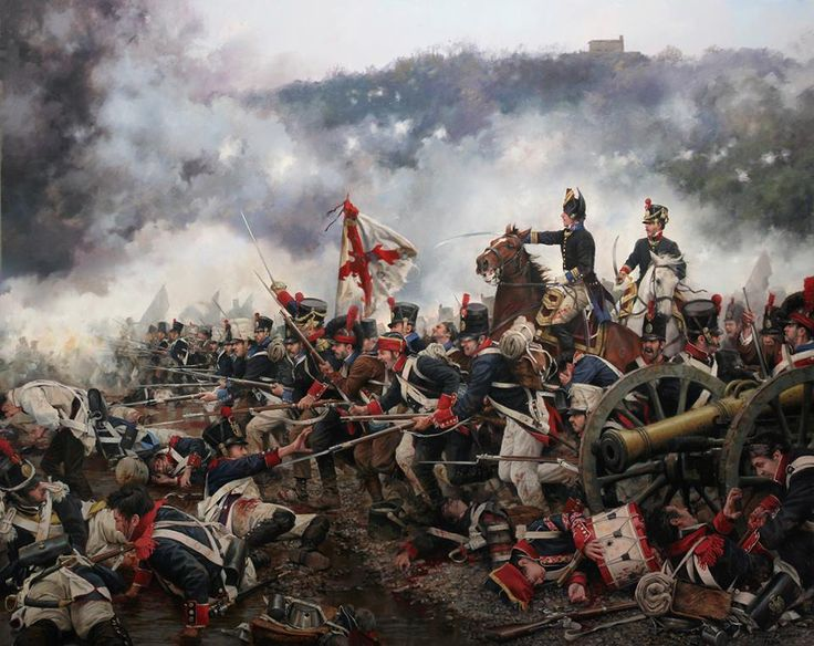 Battle of San Marcial, the Spanish Army of Galicia turn back the French