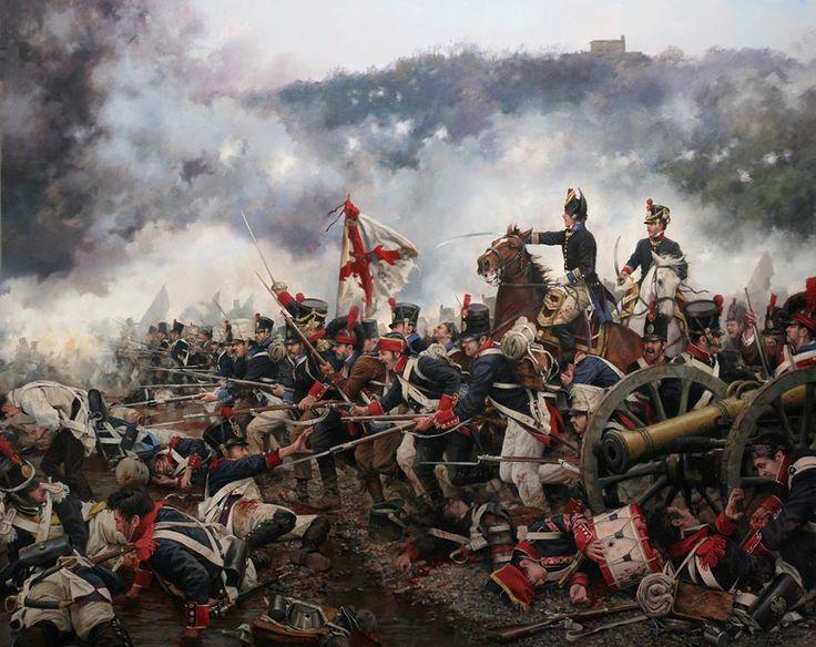 NAP: La batalla de San Marcial. Batalla de la guerra de la Independencia, cerca de San Sebastián, en la cual el Cuarto Ejército Español bajo el mando del general Freire hizo a retroceder a las tropas del mariscal Soult (31 de agosto de 1813).Crónicas24 - Todas las batallas de Augusto Ferrer-Dalmau