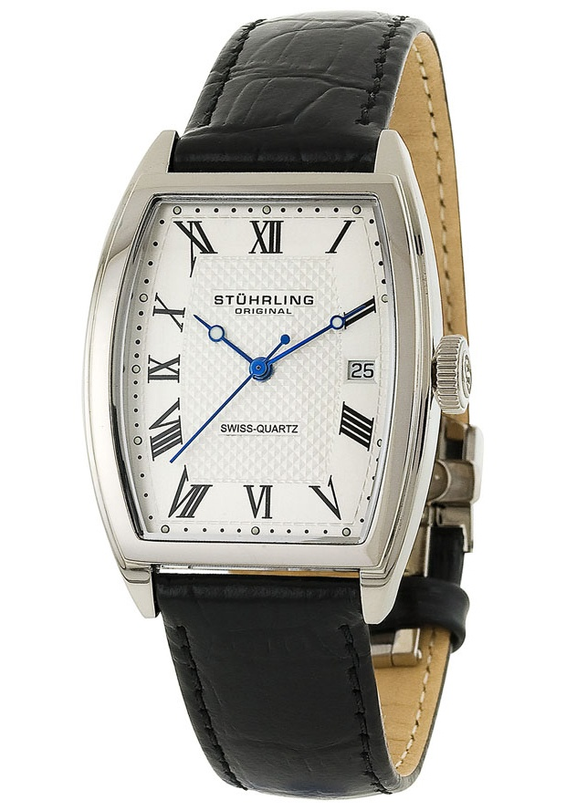 Price:$101.00 #watches Stuhrling Original 242.12152, Created in a blend of fashion and class, this Stuhrling timepiece exhibits a bold style that adds flare to your collection.