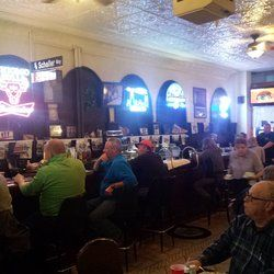 Photo of Schaller's Pump - Chicago, IL, United States. Spacious OLD SCHOOL south side White Sox bar.