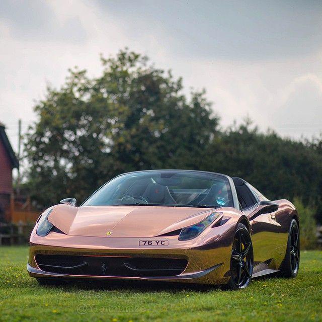 Ferrari 458 Italia - Rose Gold Wrap - Yiannimize | Luxury ...