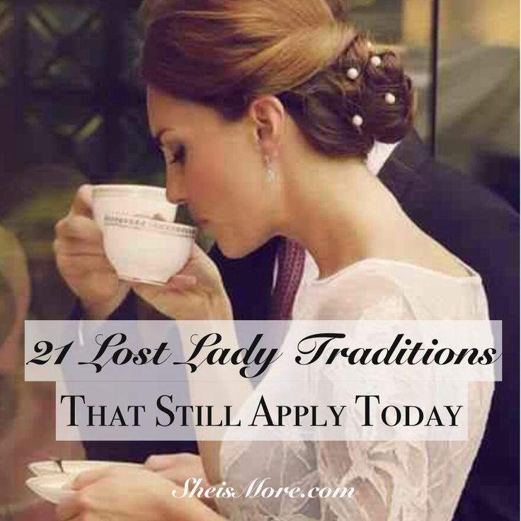cheap heels and pumps 21 Lost Lady Traditions That Still Apply Today   She is MORE