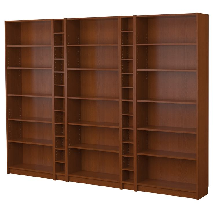 Maybe a room divider billy bookcase combination medium brown ikea home pinterest cas - Ikea shelf room divider ...