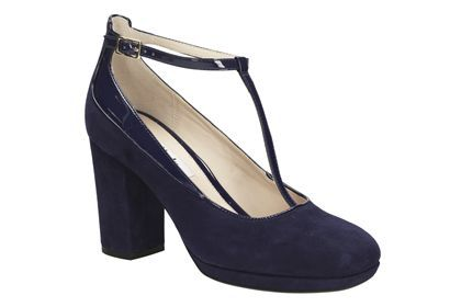 Womens Smart Shoes - Gabriel Myth in Violet Suede from Clarks shoes