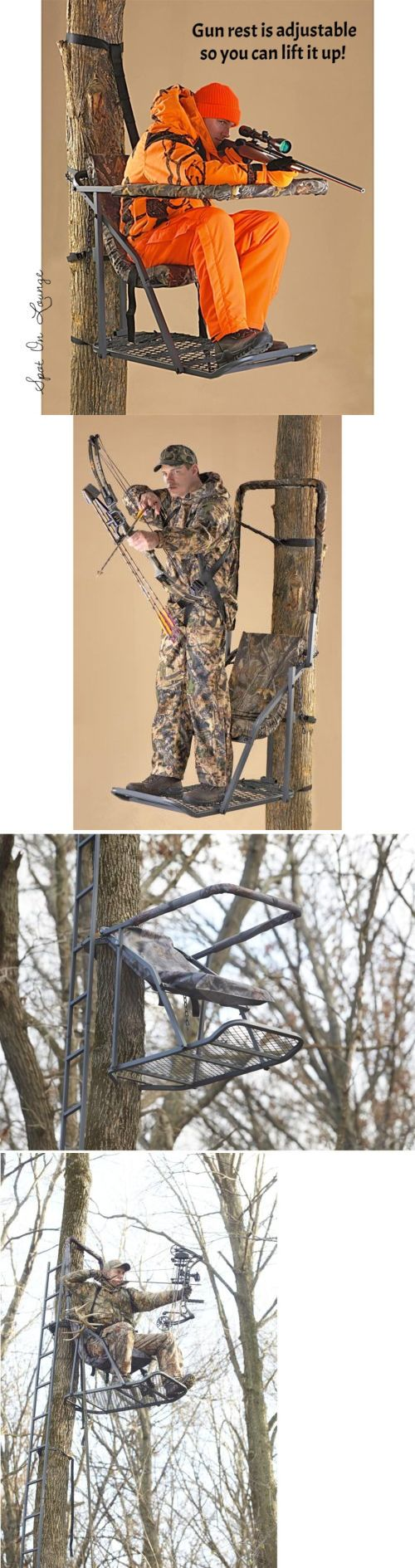 Tree Stands 52508: Adjust Hang On Hunting Treestand Seat Cushion Safety Harness Archery Gun Climber -> BUY IT NOW ONLY: $112.97 on eBay!
