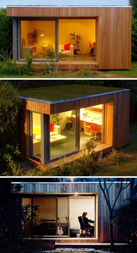Ecospace Green Garden Prefab Studio | WebUrbanist