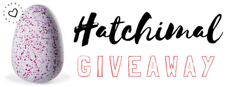 Hatchimal giveaway from Cool Aunt, enter to win.  It could be your lucky day :)