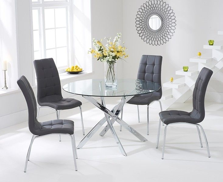 Glass Dining Table And Chairs Glass Dining Table 80cm Budget