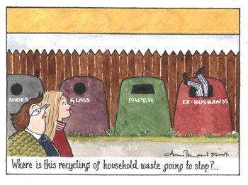 Recycling, © Annie Tempest, Tottering-by-Gently