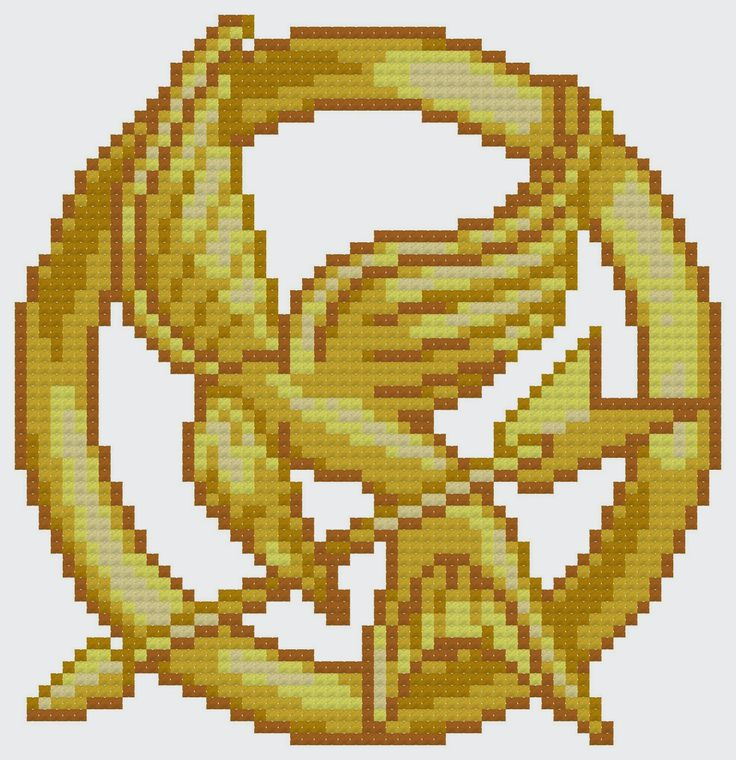 Free Hunger Games Cross Stitch Pattern