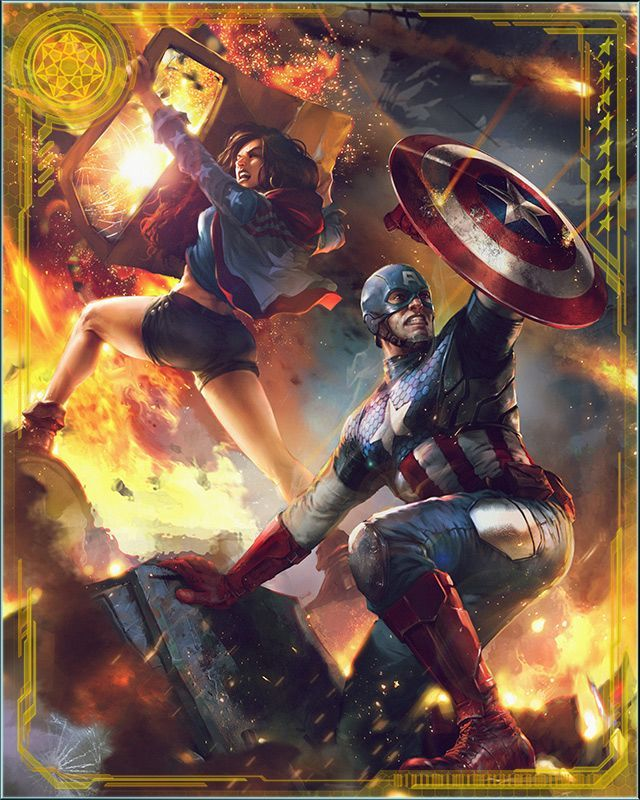 RPGOTG - [What If?] Captain America & Ms. America+