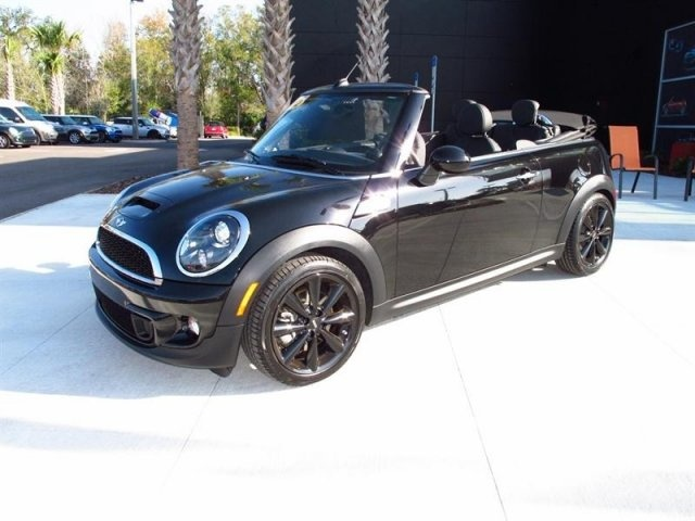 2012 MINI Cooper Convertible S Black http://www.iseecars.com/used-cars/used-mini-cooper-convertible-for-sale
