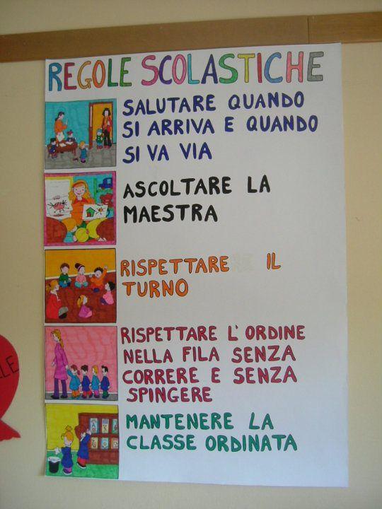 """le regole in classe: SI IMPERSONALE (si + verbi """"arrivare"""" e """"andare"""" alla 3a pers. singolare)"""