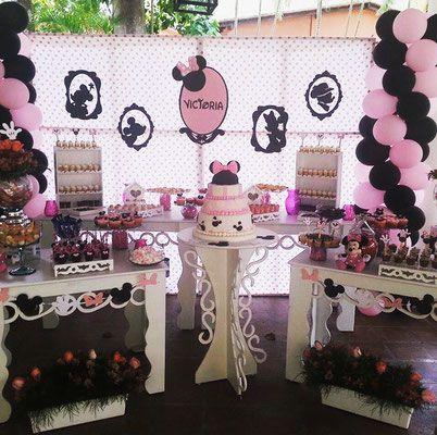 Decoración de Fiesta #MinnieMouse