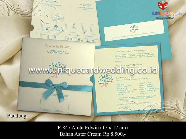 unique card wedding invitation | Vendor Wedding