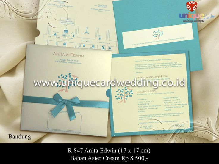 unique card wedding invitation | Vendor Wedding
