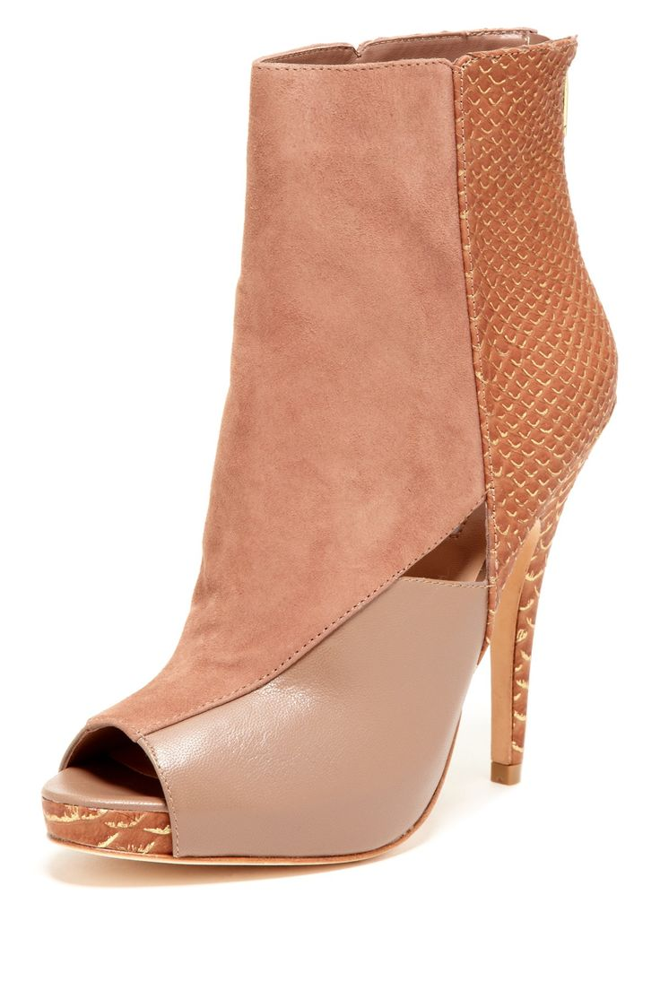 Charles by Charles David Kyle Peep Toe Boot on HauteLook