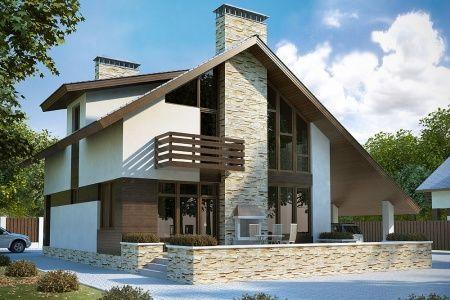 Строительство SIP домов по выгодным ценам под ключ. Проекты недорогих загородных домов из СИП панелей.