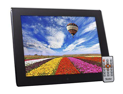 ROLLEI DEGAS DPF-150 – MARCO DE FOTOS DIGITAL MULTIMEDIA, CON PANEL TFT LED DE 15″ (38.1 CM), MEMORIA INTERNA 4 GB, COLOR NEGRO