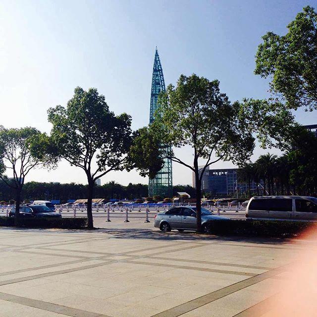 温州 ~ 中国 Xu-Factor.blogspot.com #emaxu #emaxuinchina #emaxuexperience #XuFactor #wenzhou #china #中国 #温州 #building #sky