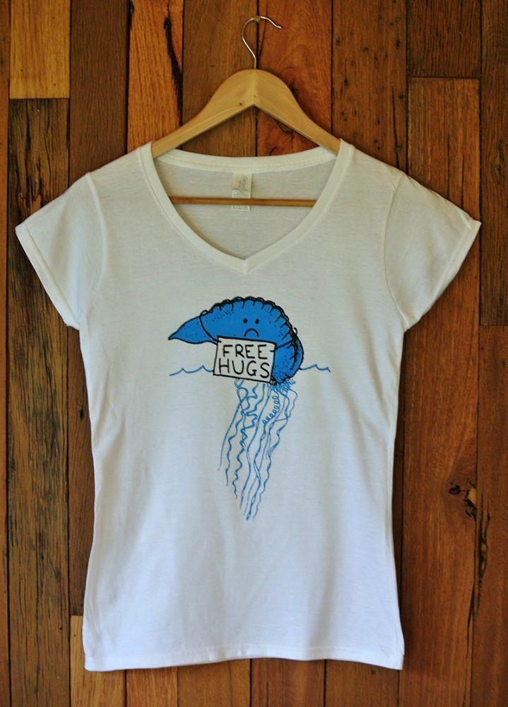 Ladies T-Shirt Bluebottle